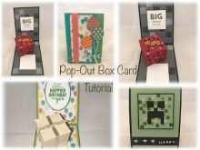 44 Creative Pop Up Box Card Tutorial Youtube in Word with Pop Up Box Card Tutorial Youtube