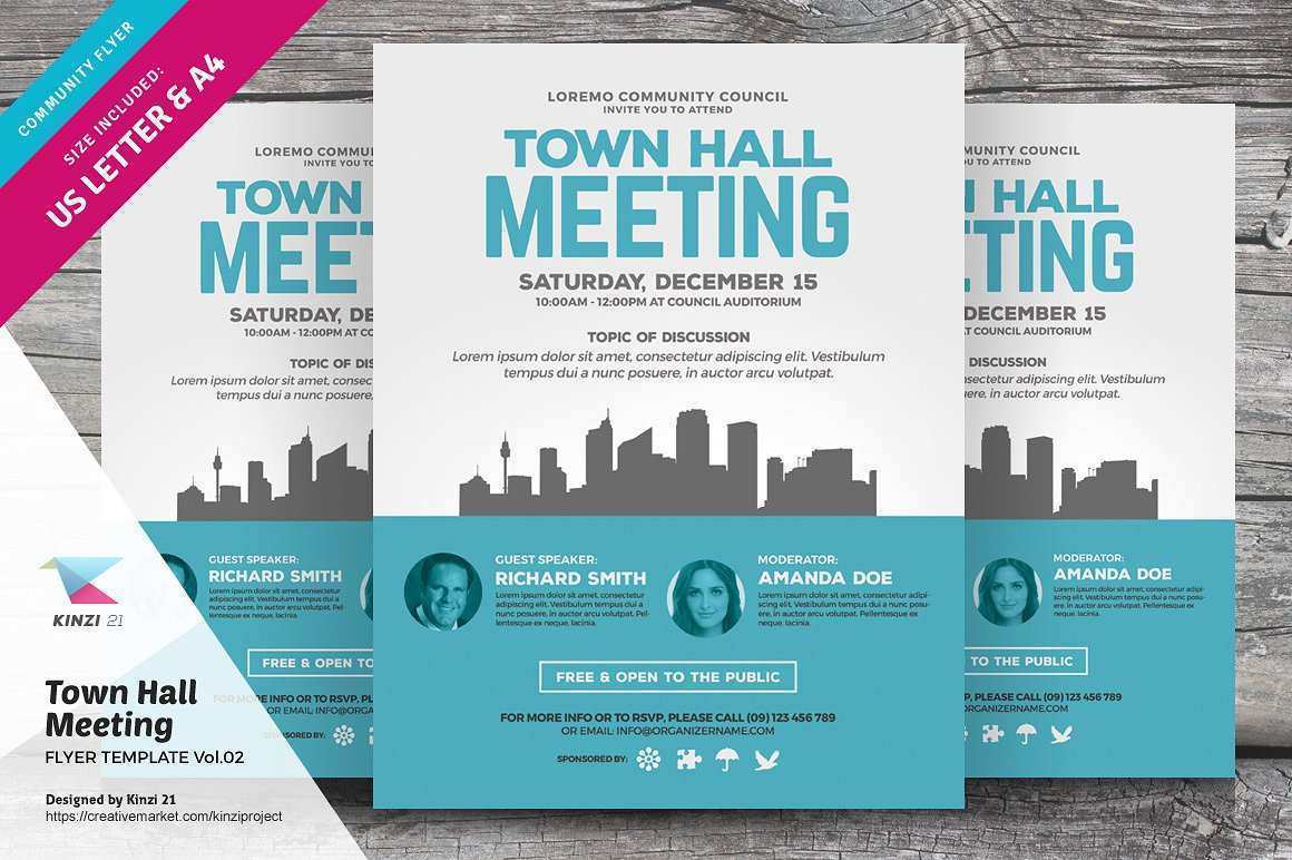 44 Customize Our Free Meeting Flyer Template Now with Meeting Flyer Template