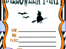 School Halloween Party Flyer Template