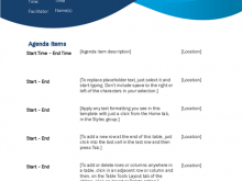 44 Format Meeting Agenda Template Ppt Free Now with Meeting Agenda Template Ppt Free