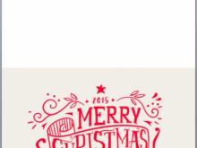 44 Free Microsoft Word Christmas Card Templates Free with Microsoft Word Christmas Card Templates Free
