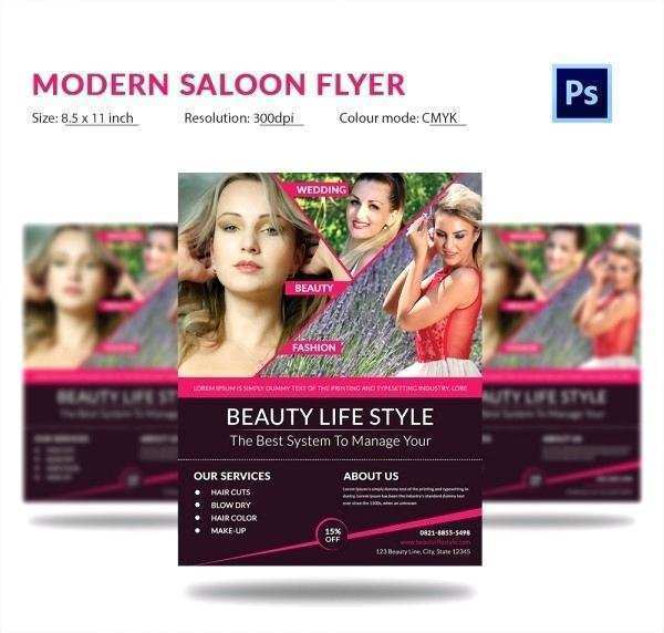 44 Free Printable Beauty Salon Flyer Templates Free Download Photo by Beauty Salon Flyer Templates Free Download