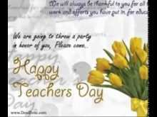 44 Online Invitation Card Sample For Teachers Day For Free with Invitation Card Sample For Teachers Day