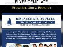 Research Flyer Template