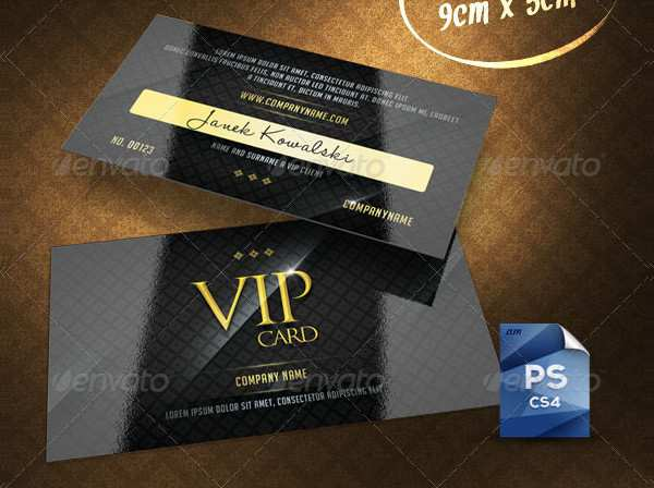 44 Online Vip Card Template Free Formating by Vip Card Template Free