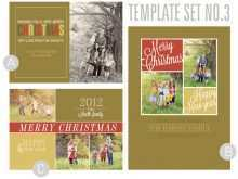 44 Printable 3 Photo Christmas Card Template Photo with 3 Photo Christmas Card Template