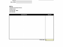 44 Printable Blank Invoice Template Pdf in Photoshop for Blank Invoice Template Pdf