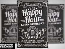 44 Printable Happy Hour Flyer Template Free in Word by Happy Hour Flyer Template Free