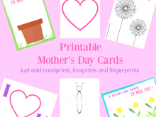 44 Report Mother S Day Card Template Preschool PSD File for Mother S Day Card Template Preschool