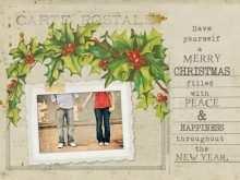 44 Standard Vintage Christmas Photo Card Templates Layouts with Vintage Christmas Photo Card Templates