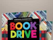 Book Drive Flyer Template