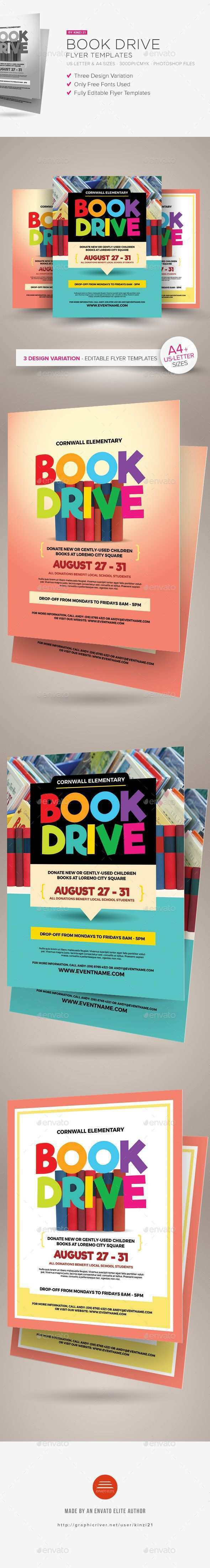 44 The Best Book Drive Flyer Template Formating by Book Drive Flyer Template