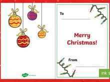 44 The Best Christmas Card Templates Twinkl Formating for Christmas Card Templates Twinkl