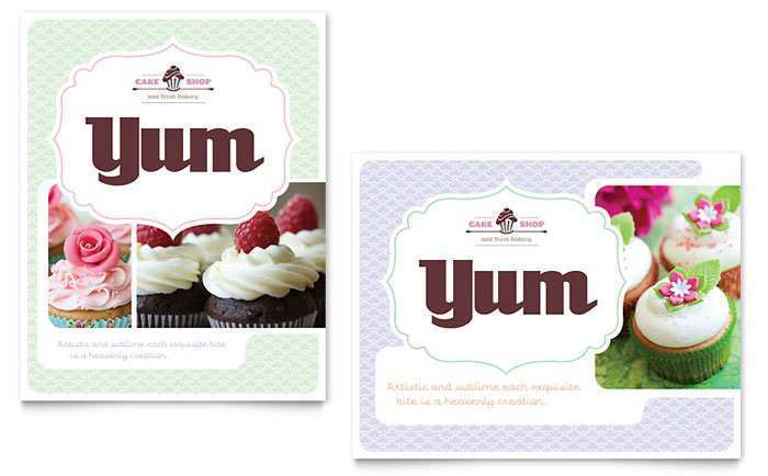 44 The Best Cupcake Flyer Template in Word for Cupcake Flyer Template