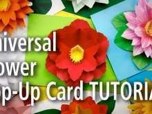 44 The Best Flower Pop Up Card Templates Peter Dahmen Download for Flower Pop Up Card Templates Peter Dahmen