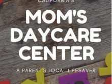 44 Visiting Daycare Flyer Templates For Free with Daycare Flyer Templates