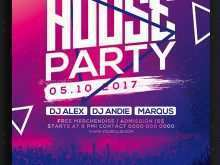 House Party Flyer Template Free