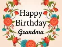 Birthday Card Templates For Grandma