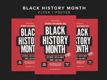 45 Create Black History Month Flyer Template Free Download with Black History Month Flyer Template Free