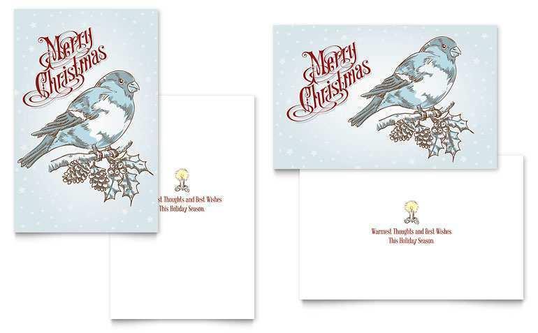 45 Create Christmas Card Templates Microsoft Word Photo with Christmas Card Templates Microsoft Word
