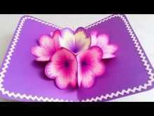 45 Creating Free Pop Up Flower Card Templates Layouts for Free Pop Up Flower Card Templates