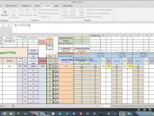 Production Planning Sheet Template 2