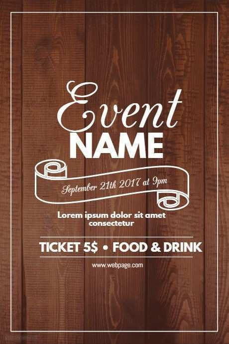 45 Creative Sample Event Flyer Template Download With Sample Event