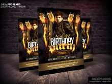 45 Customize Birthday Flyer Template Psd Now for Birthday Flyer Template Psd
