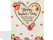 45 Customize Mothers Card Templates Youtube Now by Mothers Card Templates Youtube