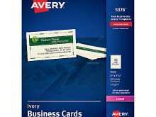 45 Format Avery Business Card Template C32024 PSD File with Avery Business Card Template C32024
