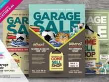 45 Free Printable Garage Sale Flyer Template PSD File with Garage Sale Flyer Template