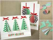 Homemade Christmas Card Template