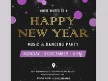 45 New Year Invitation Card Templates in Word with New Year Invitation Card Templates
