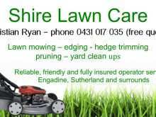 45 Online Lawn Mowing Flyer Template Now for Lawn Mowing Flyer Template