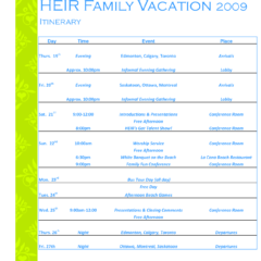45 Online Travel Itinerary Template Examples Formating By Travel Itinerary Template Examples Cards Design Templates