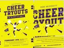 45 Printable Cheer Camp Flyer Template With Stunning Design with Cheer Camp Flyer Template