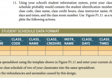 45 Report Class Schedule Template Design For Free by Class Schedule Template Design