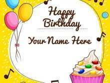 45 The Best Birthday Card Maker Name For Free with Birthday Card Maker Name