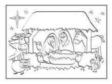 45 The Best Christmas Card Nativity Templates in Word by Christmas Card Nativity Templates