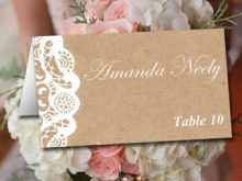 Fold Over Tent Card Template