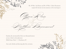 45 The Best Wedding Card Templates Pdf Download with Wedding Card Templates Pdf