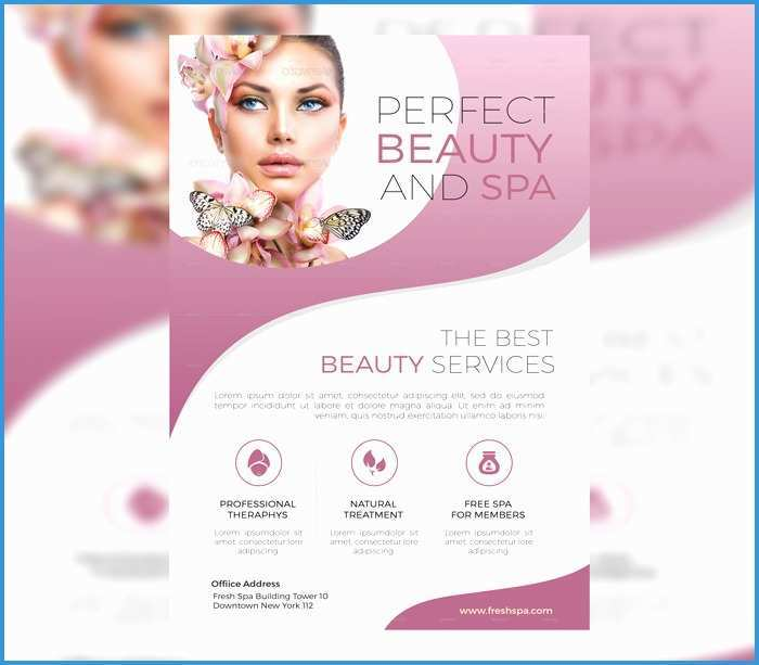45 Visiting Beauty Salon Flyer Templates Free Now by Beauty Salon Flyer Templates Free