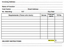 46 Best Blank Catering Invoice Template Photo by Blank Catering Invoice Template