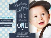 46 Blank 1St Birthday Invitation Card Template Online for Ms Word with 1St Birthday Invitation Card Template Online