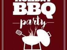 46 Blank Bbq Flyer Template With Stunning Design with Bbq Flyer Template
