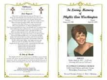 Funeral Flyer Templates