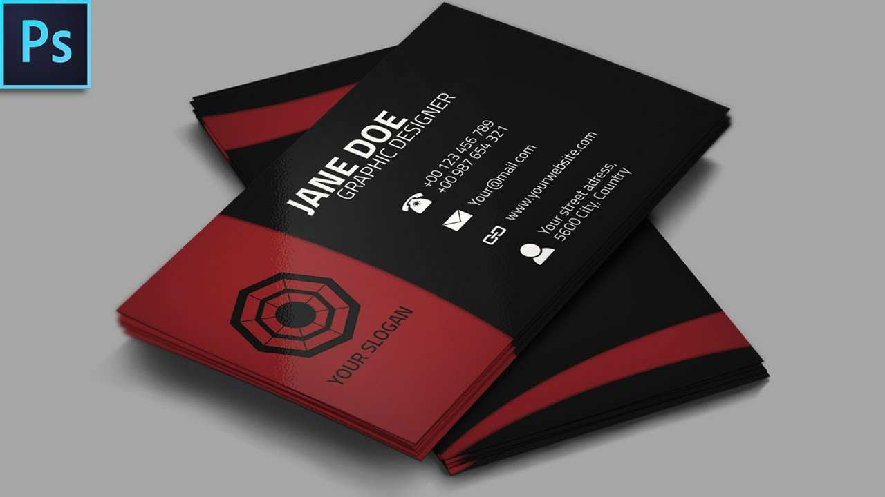 46 Create Business Card Design Template For Photoshop Photo for Business Card Design Template For Photoshop