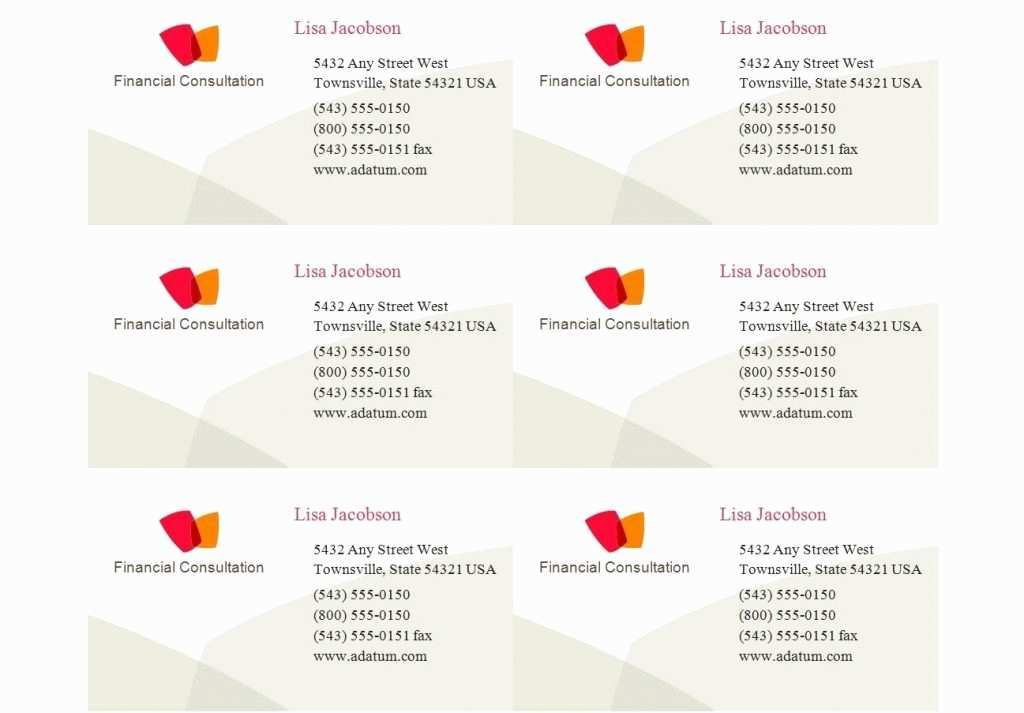 46 Create Business Card Template On Mac in Word with Business Card Template On Mac