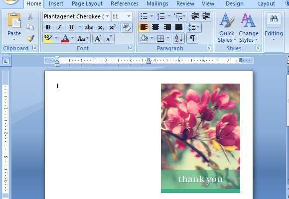 46 Creating Card Templates On Word Formating for Card Templates On Word