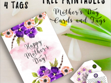 46 Creating Mother S Day Card Template Free Download Formating by Mother S Day Card Template Free Download